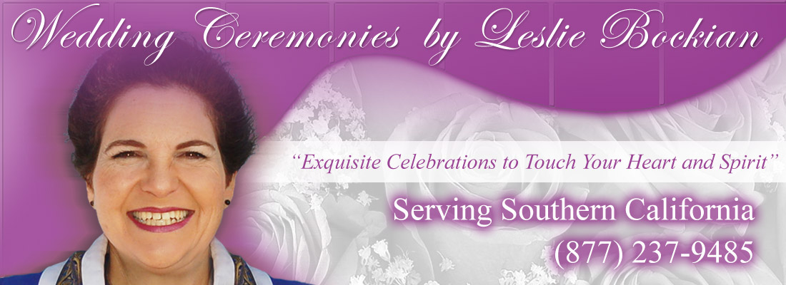 A Joyful Wedding || Non-denominational Minister, Marriages and Civil Unions in all 50 States - Rev Leslie Bockian